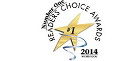 Number One Reader's Choice Awards
