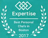 Chef Gloria B has been named one of Boston's 20 Best Personal Chefs by Expertise.com!!